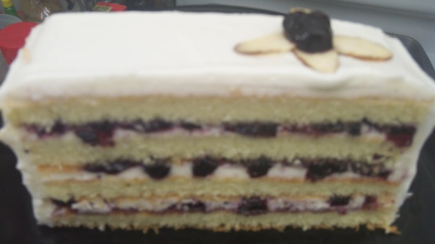Blueberry Vanilla Bean Cake