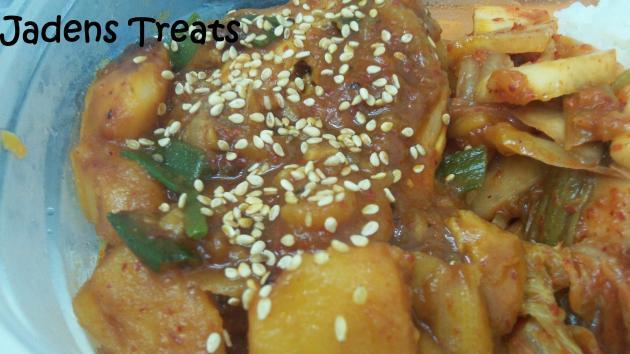 Spicy Chicken Bokkeum Tang