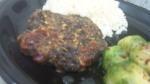 Eggplant Mushroom Turkey burger